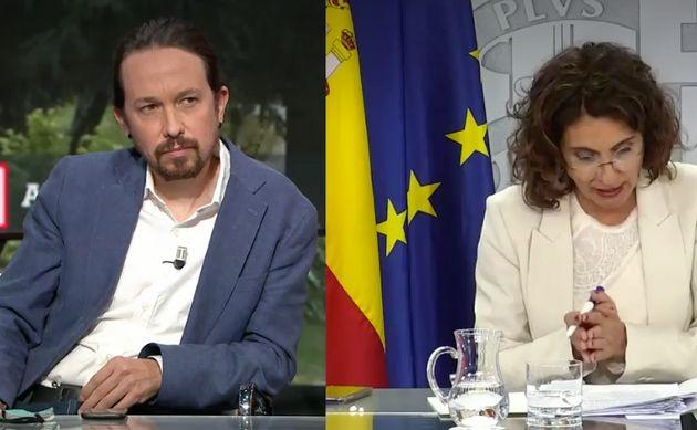 Pablo Iglesias en su entrevista en 'La