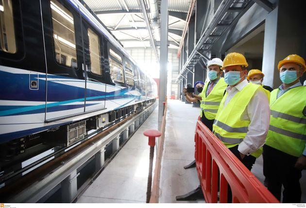 Μετρό Θεσσαλονίκης: Δοκιμαστική διαδρομή με «επιβατικό κοινό» και ταχύτητα 7