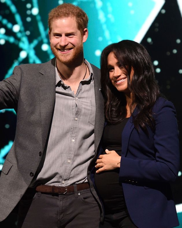 Prince Harry and Meghan Markle, pictured in