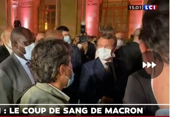 Au Liban, Macron s'en prend au journaliste du Figaro Georges