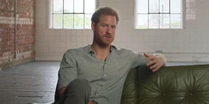 El pr&iacute;ncipe Harry en 'Rising Phoenix<i>'.</i>