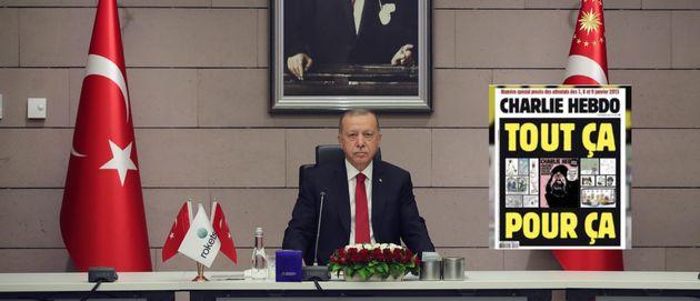 La Turquie condamne la republication des caricatures de Mahomet par Charlie