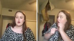 TikTok Video Goes Sideways When Mum Suddenly Falls Through