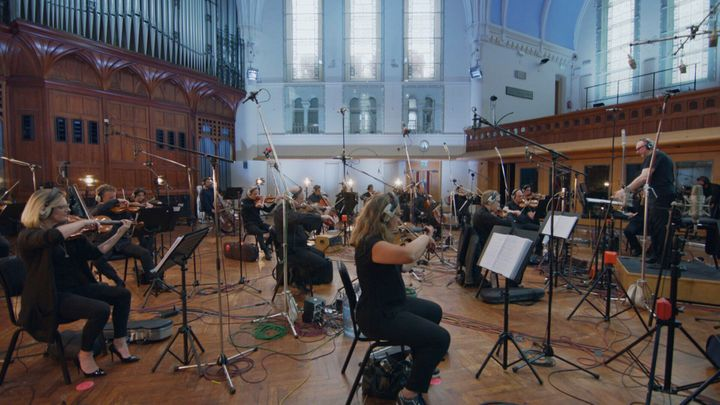 Zimmer and Shea recorded the new music with the BBC Concert Orchestra.