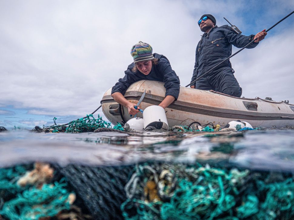 The Ocean Voyages Institute has been working to clean up the Great Pacific Garbage Patch for over a decade.