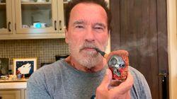 Arnold Schwarzenegger a reçu tout un cadeau de la part d'un