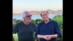 Quando Briatore fece visita a Berlusconi in Costa Smeralda: