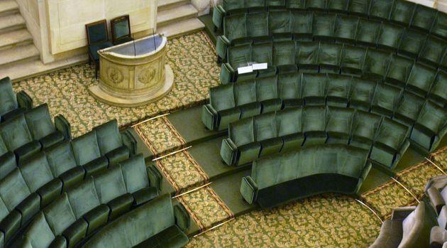 La coupole de l'Institut de France abrite les célèbres fauteuils des