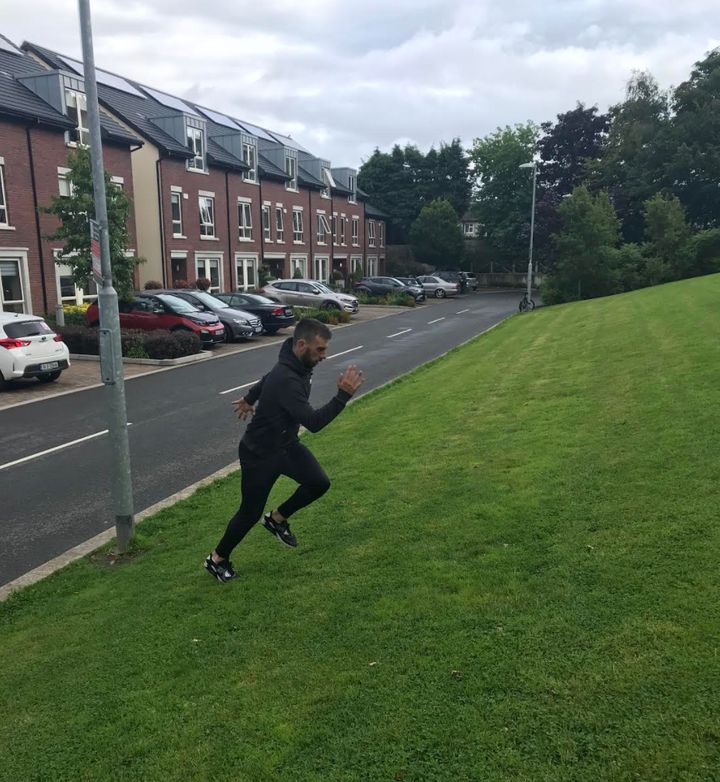 Attempting a hill run can be a challenge for down the line, but at first, aim to run on a flat surface