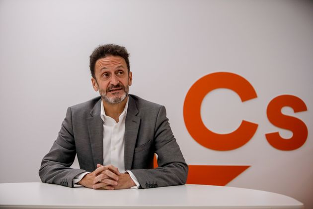El portavoz adjunto de ciudadanos, Edmundo Bal, fotografiado el 28 de agosto de 2020 (Ricardo Rubio/Europa...