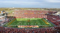 Iowa State Will No Longer Allow 25,000 To Attend Football Game Because,