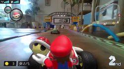 Nintendo dévoile un «Mario Kart» en réalité augmentée dont la piste sera votre