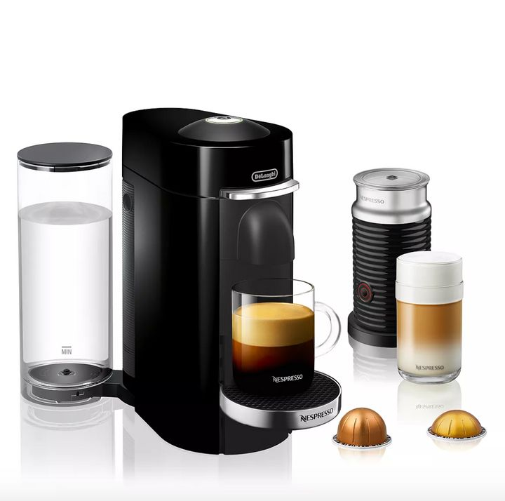 "You can be ""your own favorite barista"" with this on-sale Nespresso coffee maker that's actually pretty easy to use."
