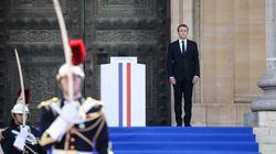 Entre Charlie et l'insécurité, Macron se cherche en défenseur de la