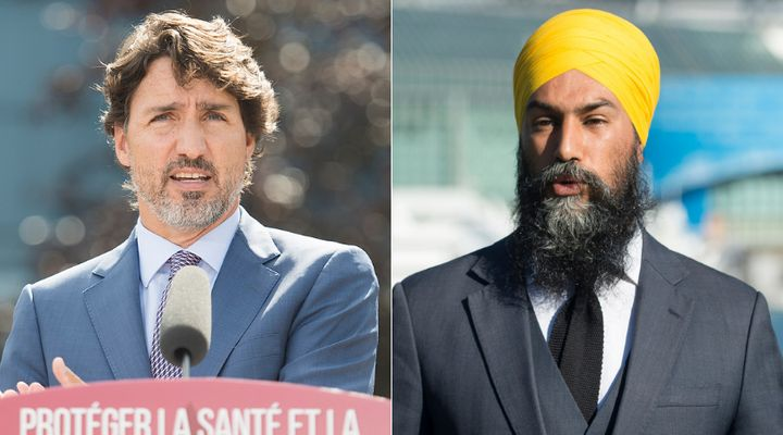 Prime Minsiter Justin Trudeau prorogued Parliament in August. NDP Leader Jagmeet Singh's party wants MPs to return earlier to pass legislation to extend the Canada Emergency Response Benefit.