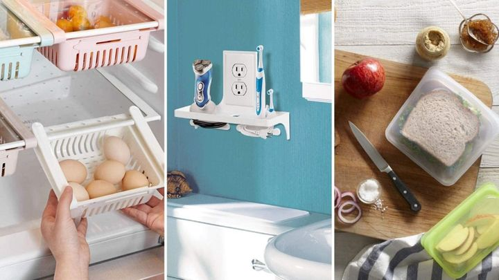 From fridge organizers to hacks for small bathrooms, you'll wonder how you lived without these practical home finds on Amazon under $20.