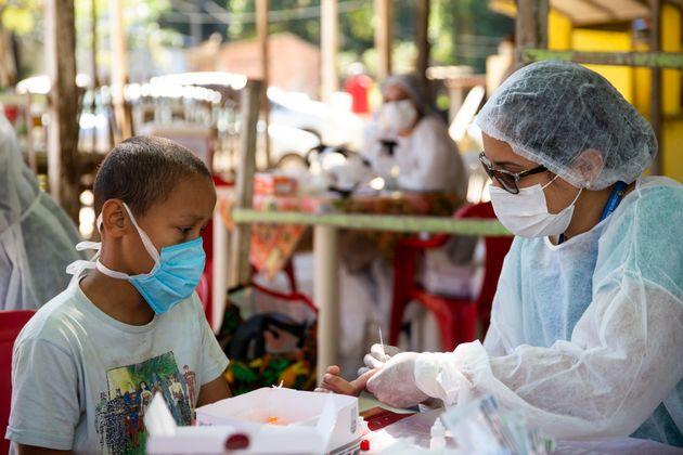O novo coronavírus já causou mais de865 mil mortes no