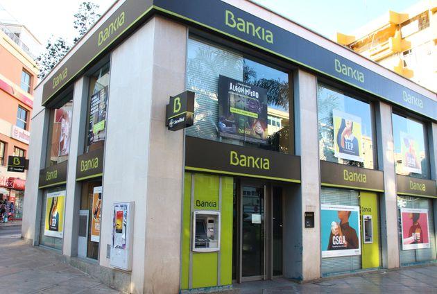 Una oficina en Bankia en la Costa del Sol, en