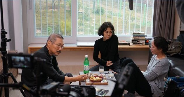 영화 '도망친 여자' 촬영