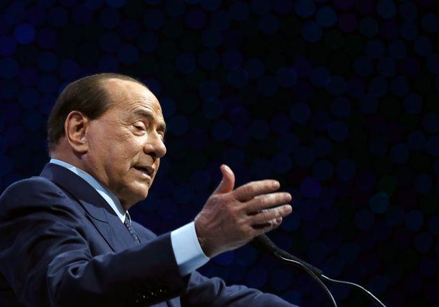 El ex primer ministro italiano Silvio Berlusconi en un evento en Croacia el 21 de noviembre del 2019....
