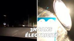 Une coupure d'électricité a plongé 270.000 foyers dans le