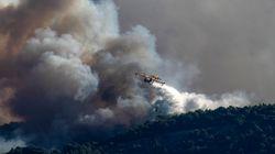 Μεγάλη φωτιά στο Άγιο Βασίλη Σοφικού στην Κορινθία σε δασική έκταση - Εκκένωση