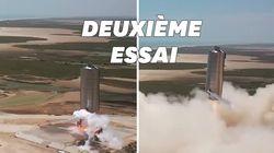 SpaceX effectue un nouveau vol d'essai pour son