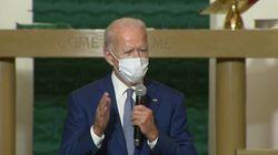Joe Biden habla por teléfono con Jacob Blake: