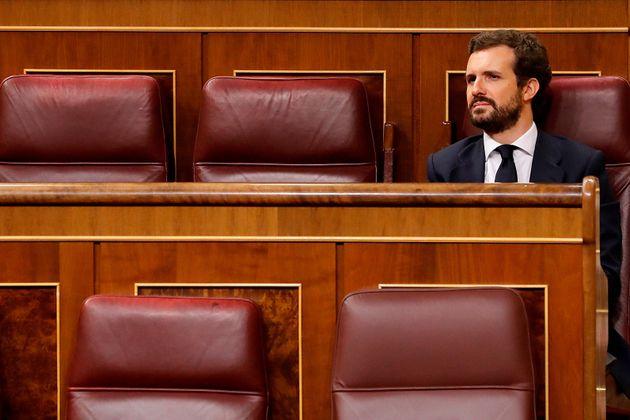 Imagen de archivo del líder del PP, Pablo