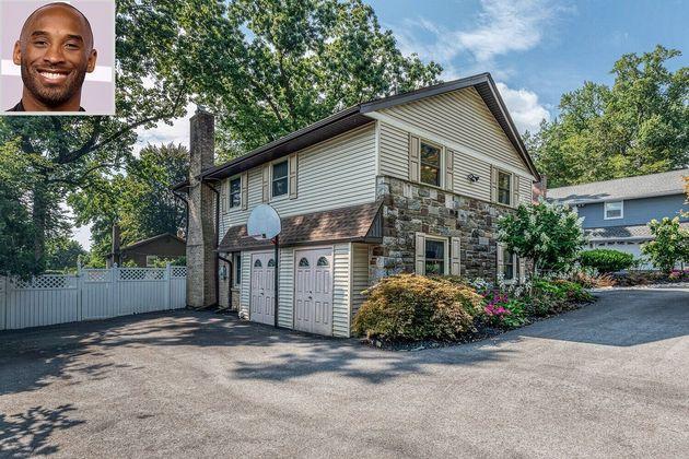 In vendita per 900 mila dollari la casa d'infanzia di Kobe Bryant. C'è ancora il suo