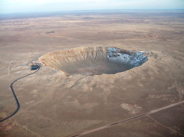 L'astéroïde aurait frappé la Terre il y a 100 millions d'années. (photo