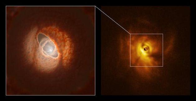 Scoperto il primo sistema planetario con 3 soli