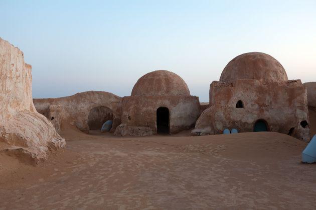 Scene dal set del film Star Wars: il pianeta