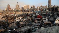 'Señales de vida' bajo los escombros de Beirut un mes después de la