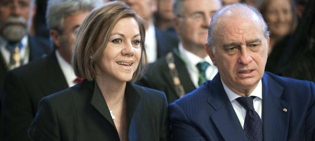 Dolores de Cospedal y Jorge Fernandez
