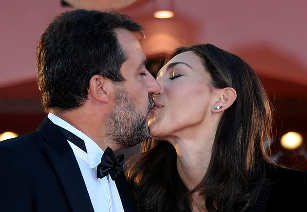 Matteo Salvini e Francesca
