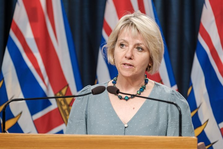 B.C. chief medical officer Dr. Bonnie Henry provide an update on COVID-19 on Aug. 10, 2020.