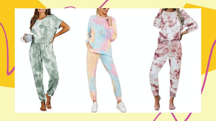 You'll love these tie-dye loungewear clothes on Amazon, from two-piece sweatpants and sweatshirts sets to casual dresses.