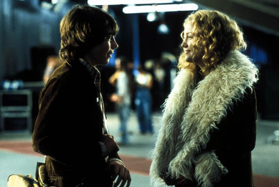 "Patrick Fugit and Kate Hudson in ""Almost Famous."""