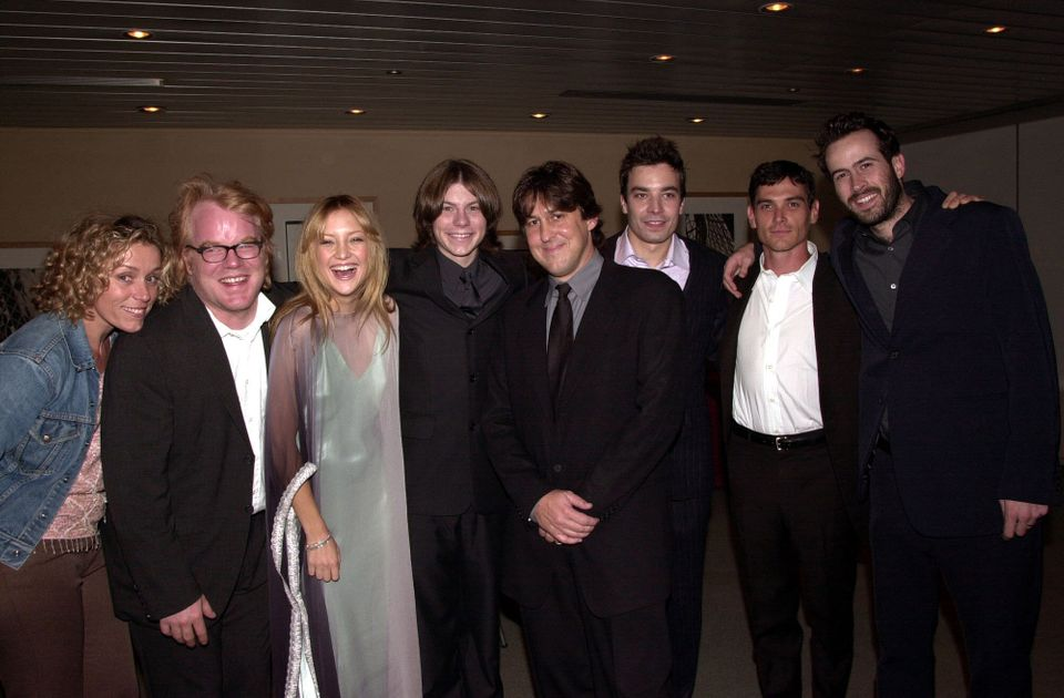 Frances McDormand, Philip Seymour Hoffman, Kate Hudson, Patrick Fugit, Cameron Crowe, Jimmy Fallon, Billy...