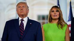 Melania Trump défend son mari en s'en prenant à une presse