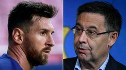La comentada reacción del Barcelona al anuncio de Messi:
