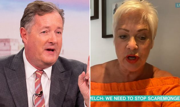 Piers Morgan And Denise Welch Clash Over Divisive This Morning Appearance
