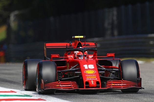 La Ferrari va a spinta pure a Monza. Leclerc partirà 13°, Vettel