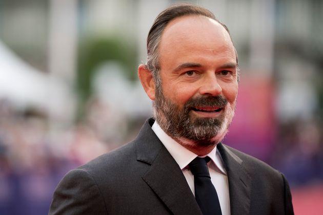 Le maire du Havre Édouard Philippe photographié au festival du film américain de