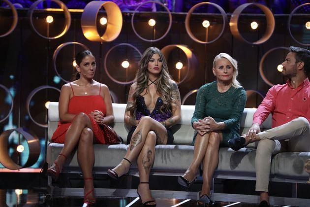 Anabel Pantoja, Nuria Martinez y Lucia Pariente en una gala de 'Gran