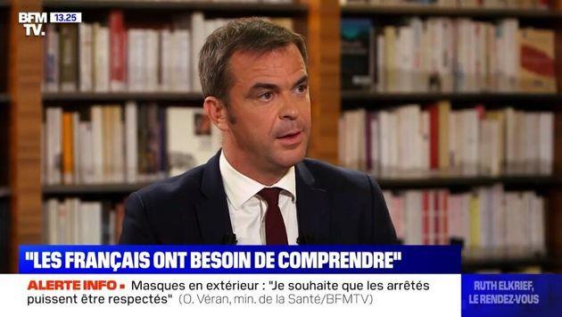 Le ministre de la Santé Olivier Véran n'exclut pas de réduire la durée de la quatorzaine pour les cas