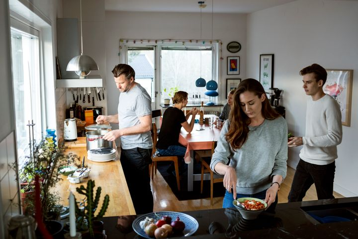 More than half of adults under 30 (52%), or 26.6 million, are living with one or both of their parents as of July, according