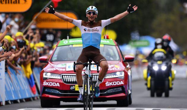 Nans Peters (AG2R La Mondiale) a remporté la 8e étape du Tour de France ce 5 septembre...