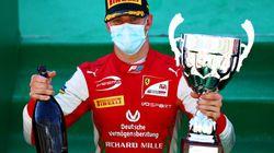 Schumacher trionfa a Monza. È Mick, 14 anni dopo il